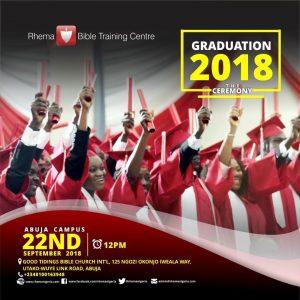 RBTC Nigeria Commencement 2018 Abuja