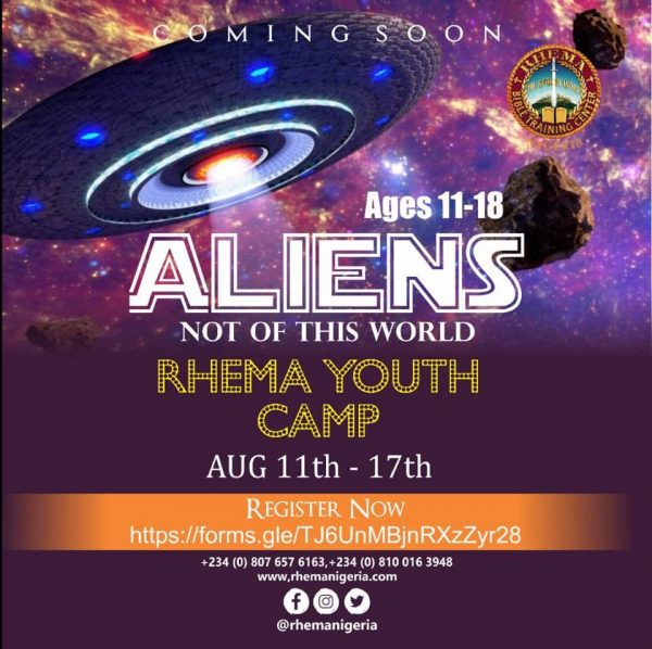 RHEMA Youth Camp - Aliens