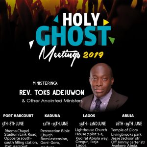 Holy Ghost Meetings