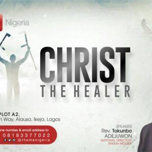 Christ the Healer – RBTC Taster Session Lagos